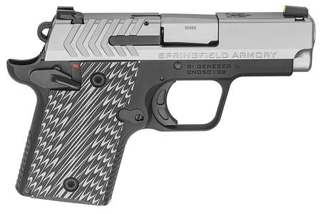 SPRINGFIELD 911 9MM STAINLESS PISTOL