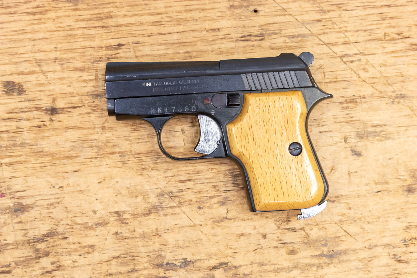 GT27  25 AUTO 6-Round Used Trade-in Pistol