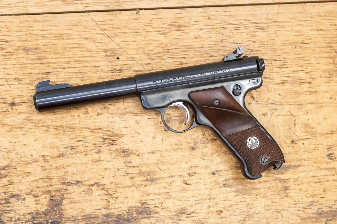 RUGER MARK I 22 LR USED TRADE-IN PISTOL