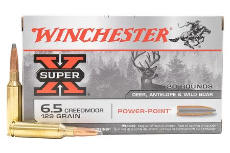 Winchester 6.5 Creedmoor 129 gr Power Point 20/Box