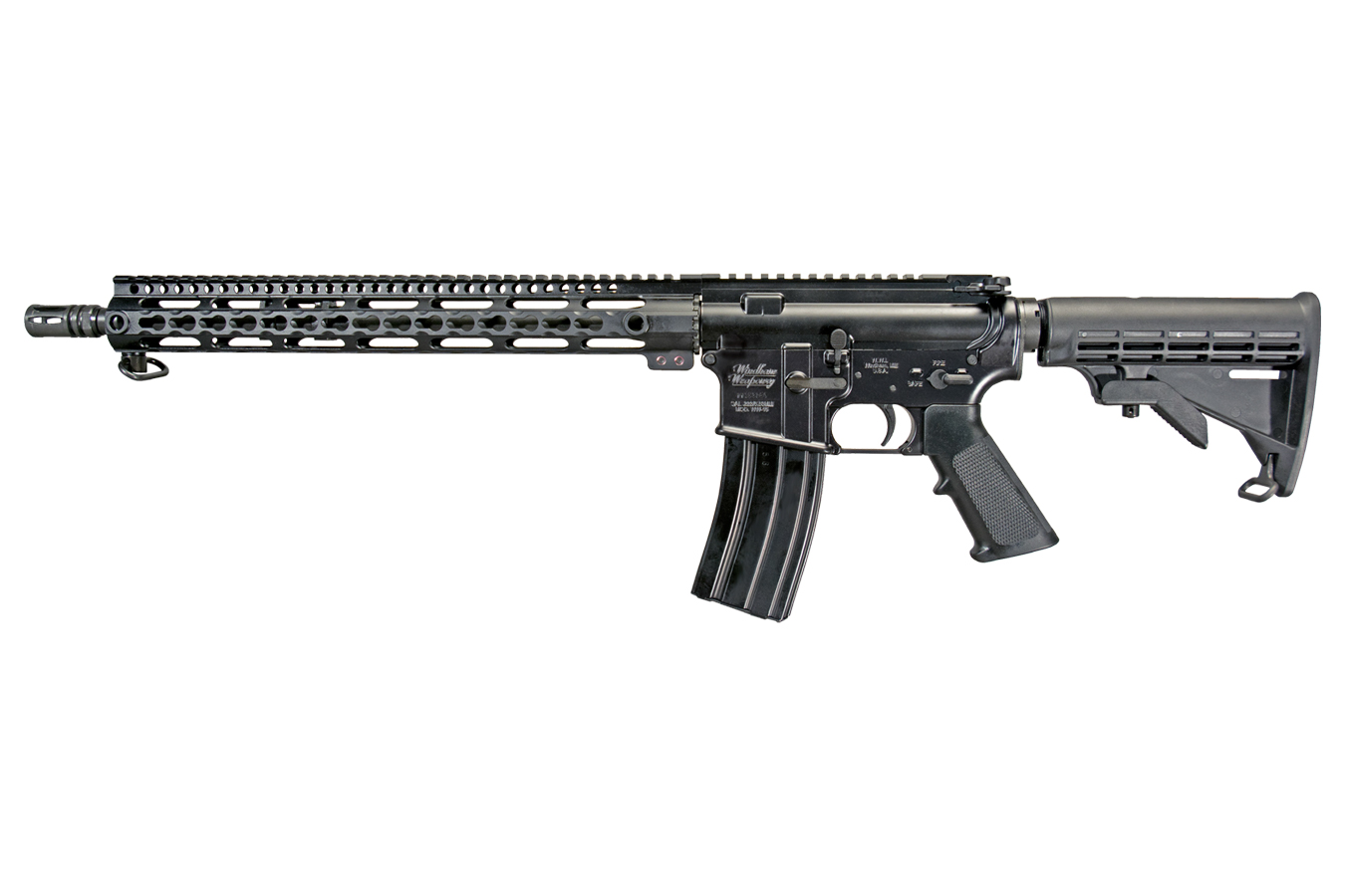 No. 12 Best Selling: WINDHAM WEAPONRY WW-15 5.56MM AR-15 WITH M4 PROFILE AND KEYMOD RAIL