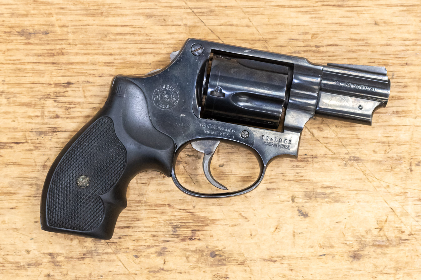 MODEL 85 38 SPECIAL USED TRADE-IN REVOLVER WITH BOBBED HAMMER