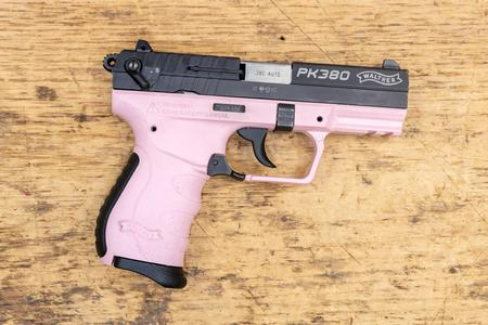 Walther PK380 380 ACP 8-Round Used Trade-in Pistol with Pink Frame