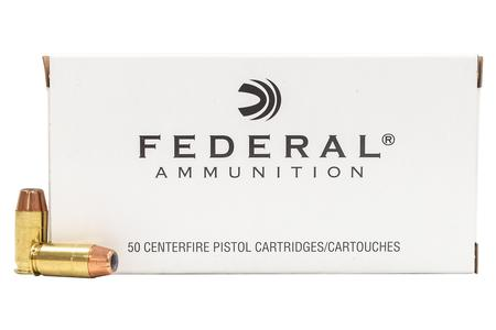 Federal 45 ACP 185 Grain Hi-Shok JHP (Jacketed Hollow Point) 50/Box