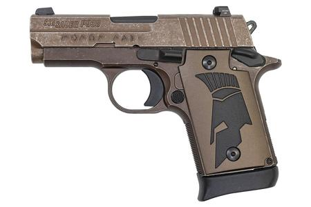 Sig Sauer P938 Spartan II 9mm with Distressed Coyote Finish and Spartan Grip