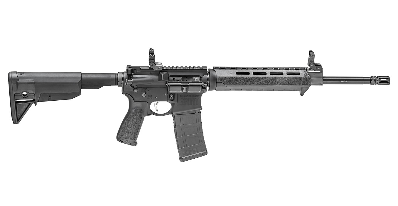 No. 7 Best Selling: SPRINGFIELD SAINT 5.56MM 16` RIFLE BLACK