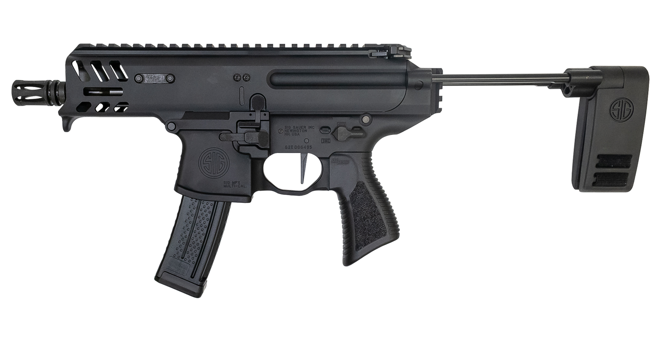 MPX Copperhead K 9mm Pistol with PCB Telescoping Brace and Timney Single  Stage Trigger