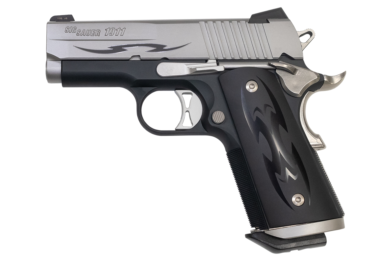 No. 4 Best Selling: SIG SAUER 1911 ULTRA COMPACT 45ACP TRIBAL