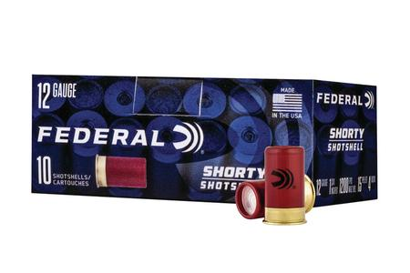 Federal 12 Gauge 1-3/4 15 Pellet #4 Buck Shorty Shotshell 10/Box
