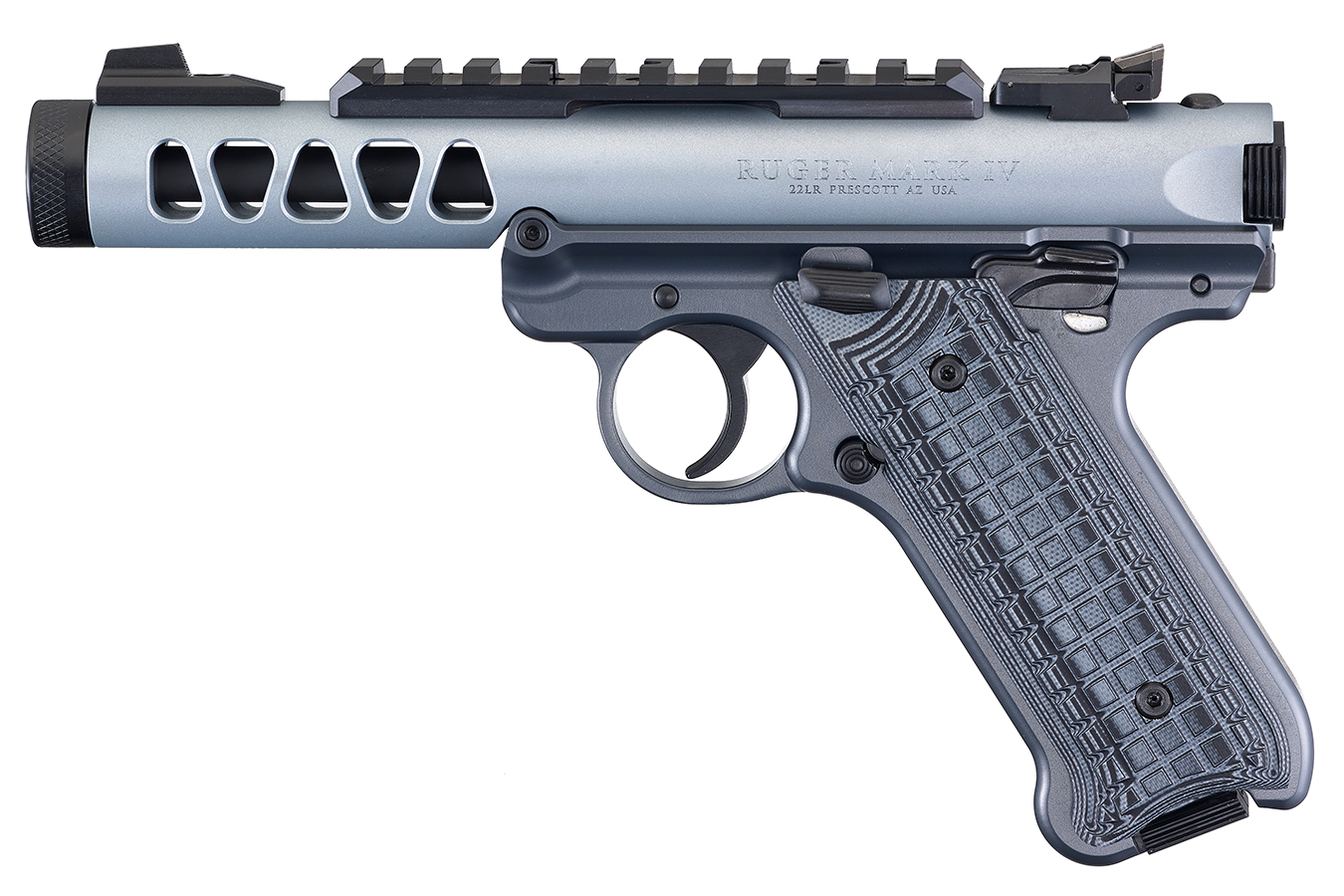 No. 15 Best Selling: RUGER MARK IV LITE 22LR DIAMOND GRAY ANODIZED