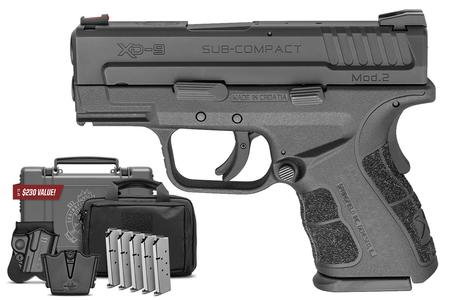 SPRINGFIELD XD MOD.2 9MM SUB-COMPACT INSTANT GEAR UP PACKAGE
