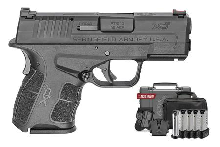 SPRINGFIELD XDS MOD.2 45 ACP INSTANT GEAR UP PACKAGE