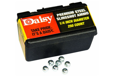 POWERLINE 1/4 STEEL SLINGSHOT AMMO
