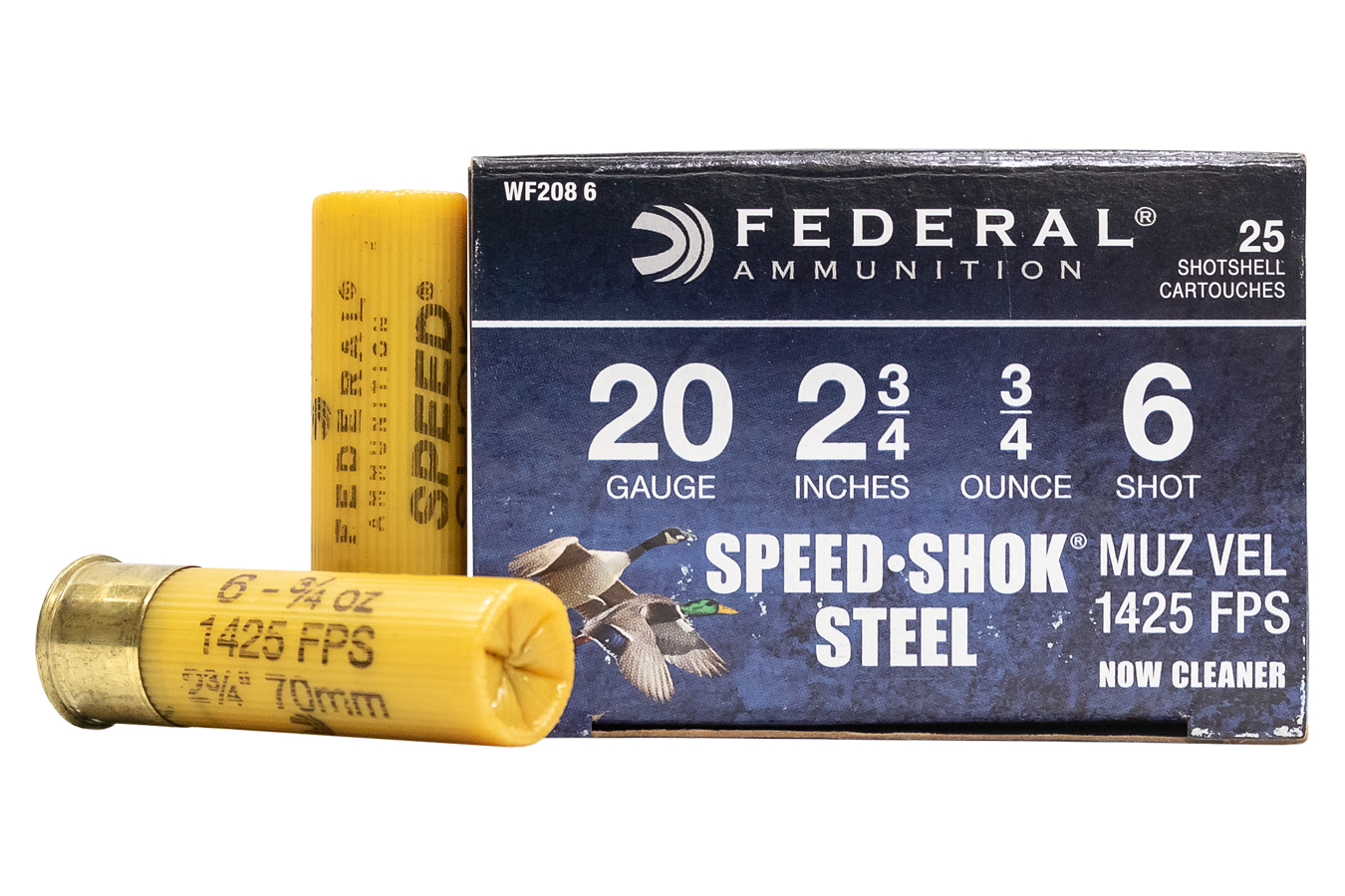SPEED-SHOK 20GA 2-3/4 3/4OZ 6 SHOT