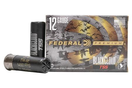 FEDERAL AMMUNITION 12 Gauge 3 in 1-1/4 oz 3/9 Shot Black Cloud TSS 10/Box