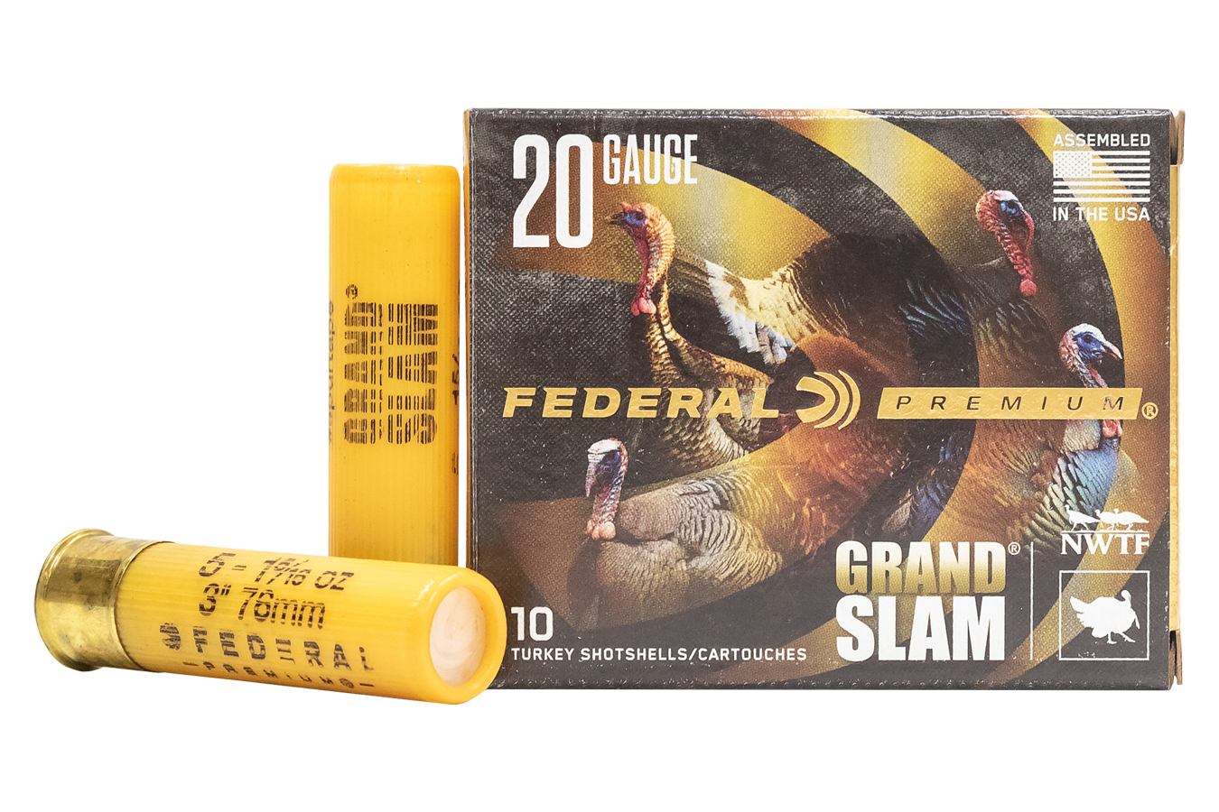 20GA 3IN 1-5/16 OZ 5SHOT GRAND SLAM 10BX