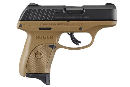 RUGER EC9S 9MM FLAT DARK EARTH