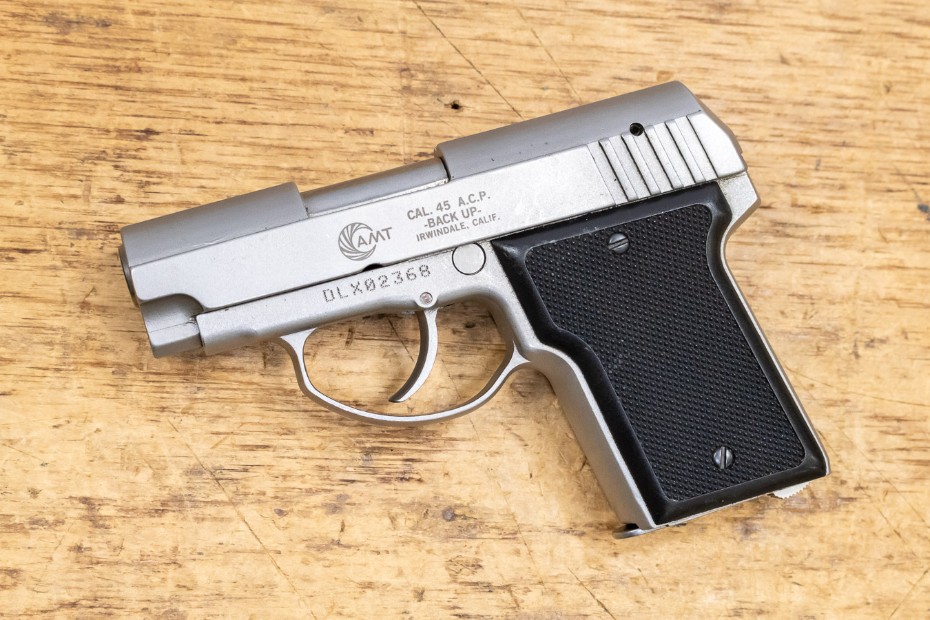 BACK UP 45 ACP USED POLICE TRADE-IN PISTOL