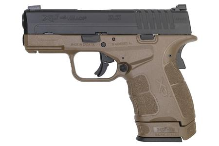 SPRINGFIELD XDS MOD 2 45 ACP 3.3 IN BARREL FDE FRAME BLACK SLIDE TRITIUM FRONT SIGHT
