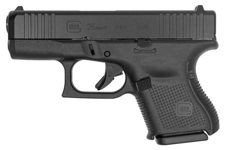 GLOCK 26 GEN5 9MM WITH FRONT SERRATIONS