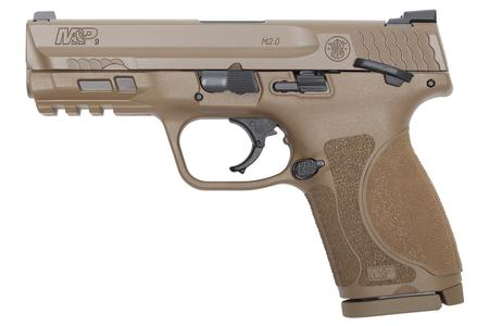 SMITH AND WESSON MP9 M2.0 COMPACT FDE 4-INCH W/ THUMB SAFETY