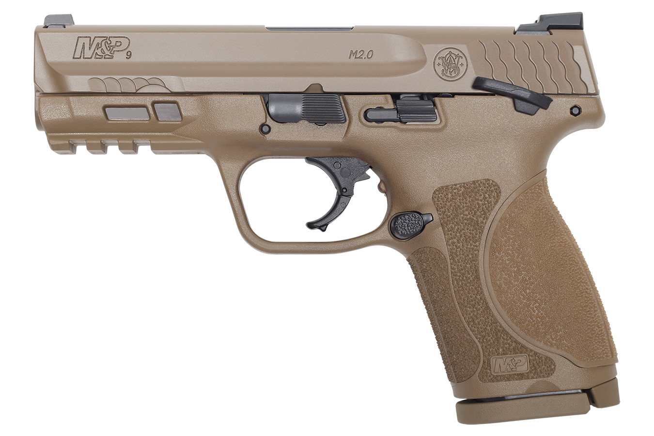 MP9 M2.0 COMPACT FDE 4-INCH W/ THUMB SAFETY