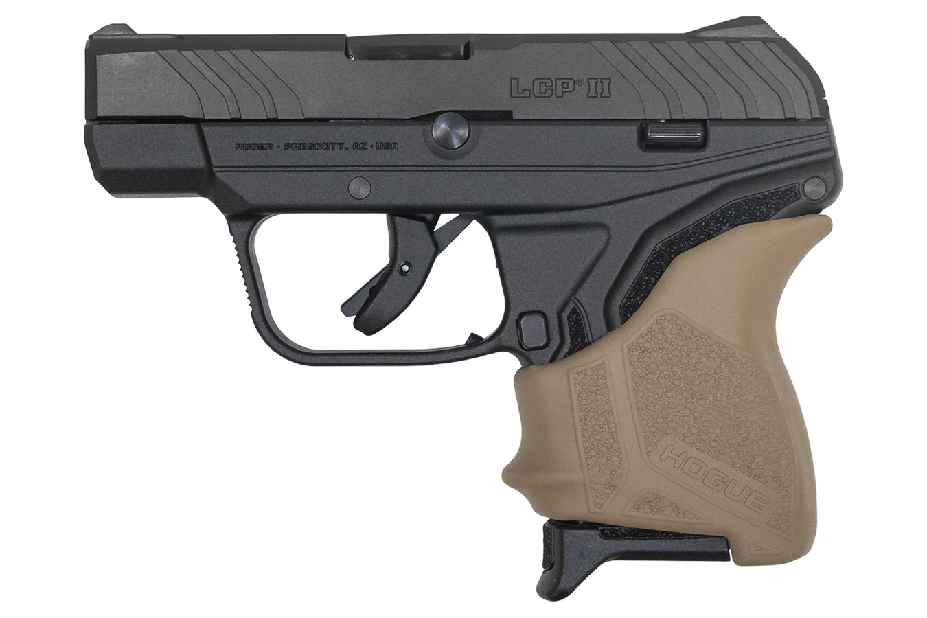 LCP II 380 AUTO WITH FDE HOGUE SLIP ON GRIP