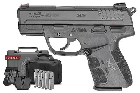 SPRINGFIELD XD-E 45 ACP DA/SA INSTANT GEAR UP PACKAGE
