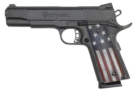 CITADEL 1911-A1 9MM PISTOL WITH USA FLAG GRIPS