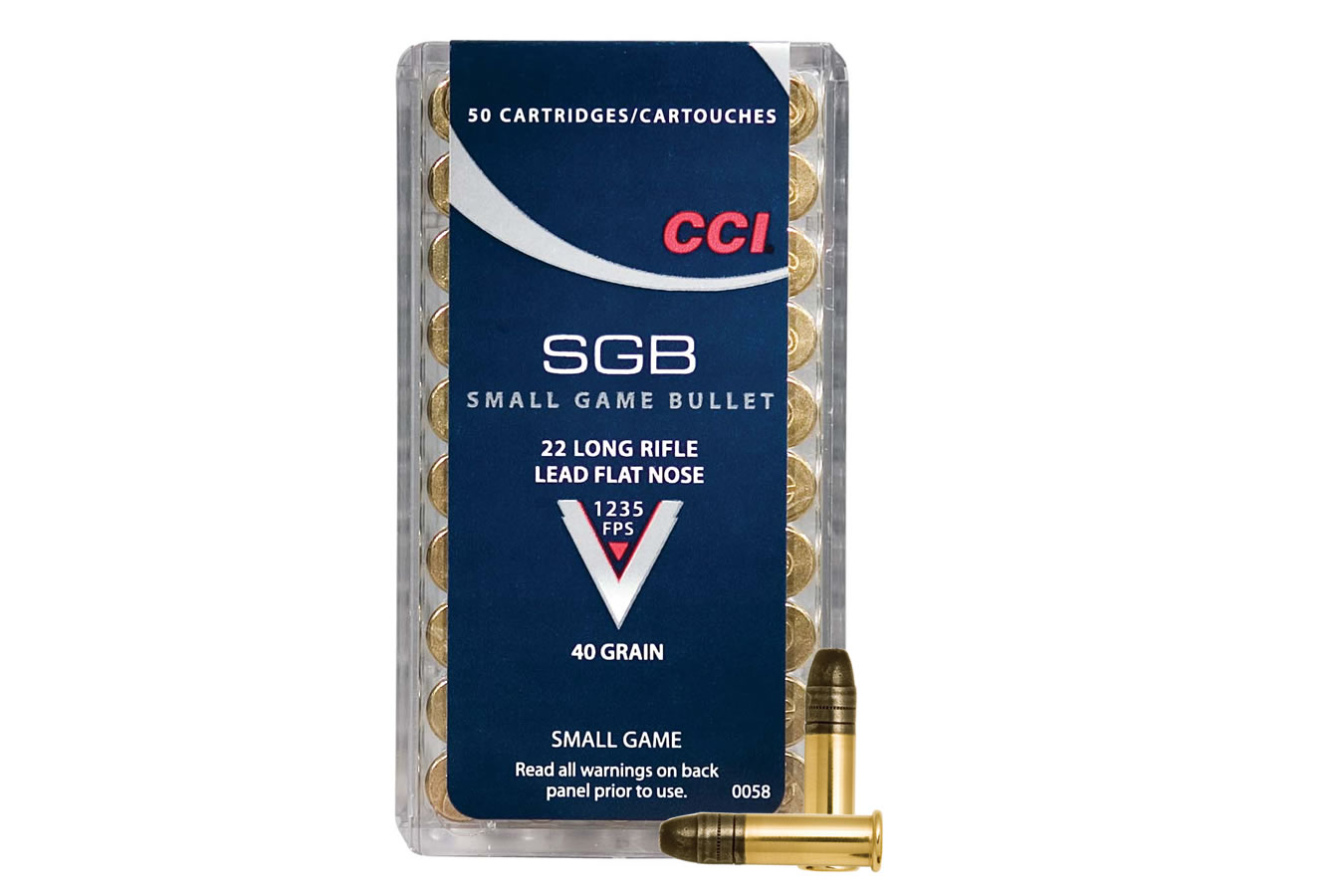 22 LR SMALL GAME BULLET 40 GR LFN
