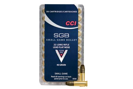 CCI AMMUNITION 22LR 40 gr LFN Small Game 50/Box