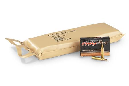 PMC .223 Rem 55 gr FMJ-BT Battle Pack 200 Rounds in Vacuum-Sealed Bag