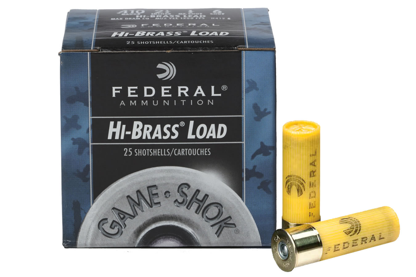 20 GA 2-3/4 IN  2-3/4 DE 1 OZ 5 GAME-SHOK HI-BRASS