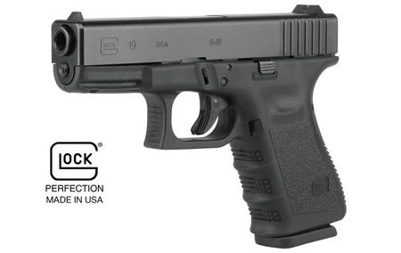 GLOCK 19 GEN3 9MM 15-ROUND PISTOL (MADE IN USA)