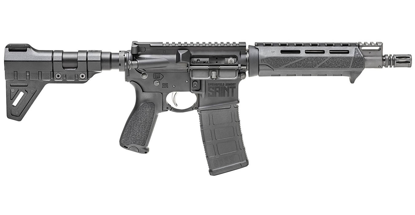 SAINT 5.56MM AR15 PISTOL WITH 9.6 INCH BARREL