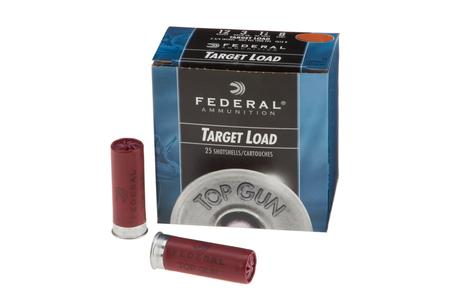 Federal 12 Gauge 2-3/4 in 7/8 oz 8 Shot Target Loads 25/Box
