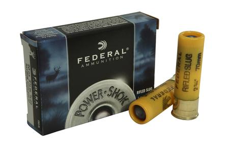 Federal 20 Gauge 2-3/4 in 7/8oz Power Shok Sabot Slug 5/Box