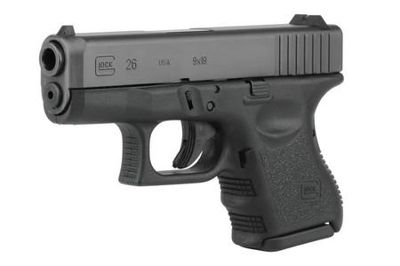 GLOCK 26 GEN3 9MM 10-ROUND PISTOL (MADE IN USA)