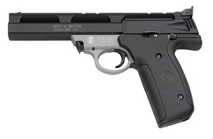 SMITH AND WESSON 22A 22LR TWO-TONE RIMFIRE PISTOL