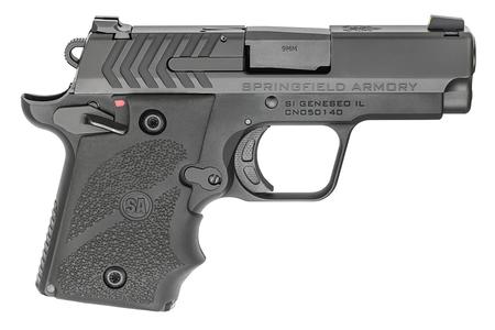 SPRINGFIELD 911 9MM CARRY CONCEAL PISTOL WITH HOGUE GRIPS