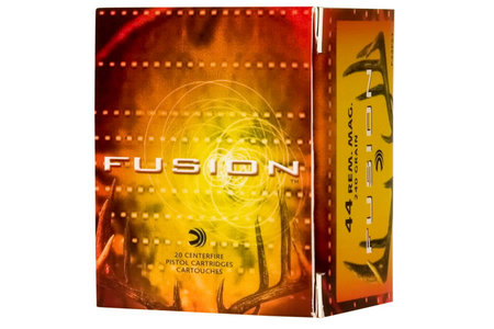 FEDERAL AMMUNITION 44 Rem Mag 240 gr SP Fusion 20/Box
