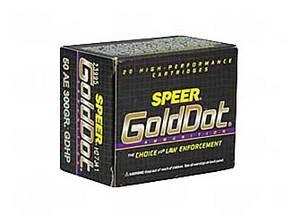 50 AE 300GR GOLD DOT HP