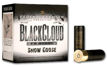 FEDERAL AMMUNITION 12 GA 3 IN 1-1/8 OZ BB BLACK CLOUD