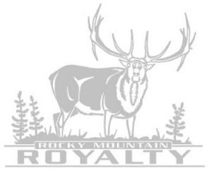 ELK ROCKY MTN ROYALTY DECAL