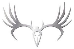 TRIBAL MULE DEER 2PK EMBLEM