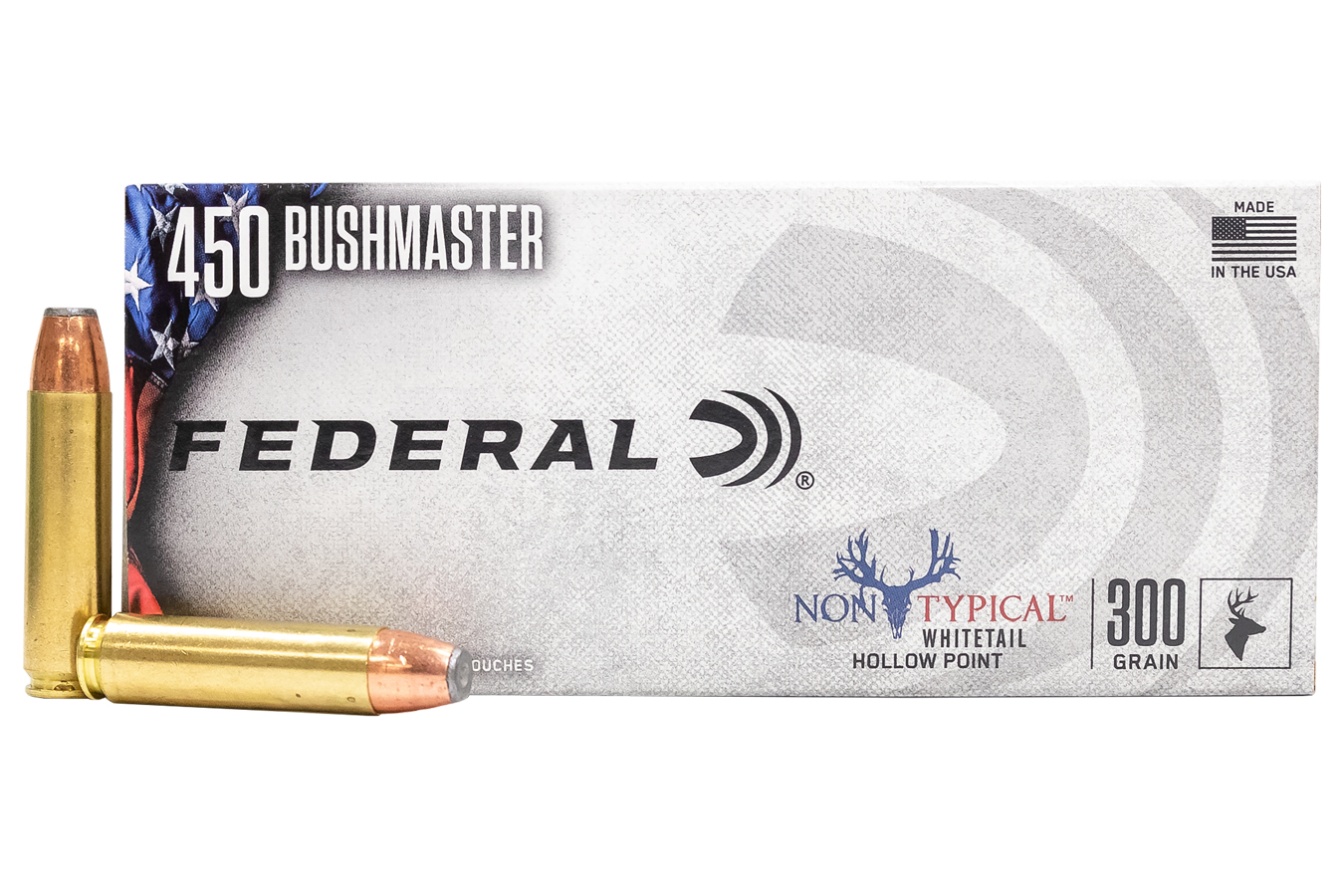 450 BUSHMASTER 300 GR NON TYPICAL SOFT POINT