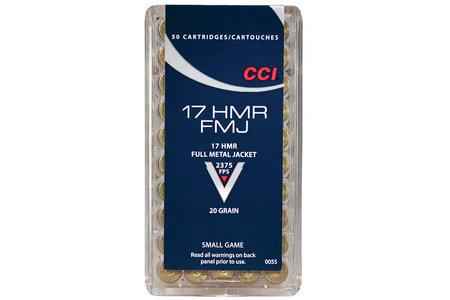 CCI 17 HMR 20 gr FMJ 50/Box