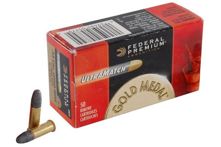 Federal Ammunition 22LR 40 gr Premium Ultra Match 50/Box