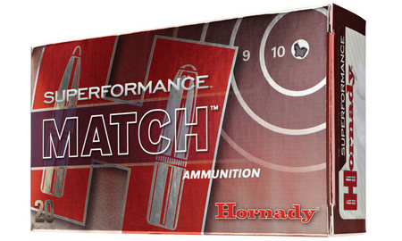 Hornady 308 Win 178 gr BTHP Superformance Match 20/Box