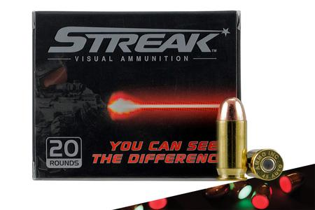 Streak Ammo 45 Auto 230 Grain TMJ Red 20/Box